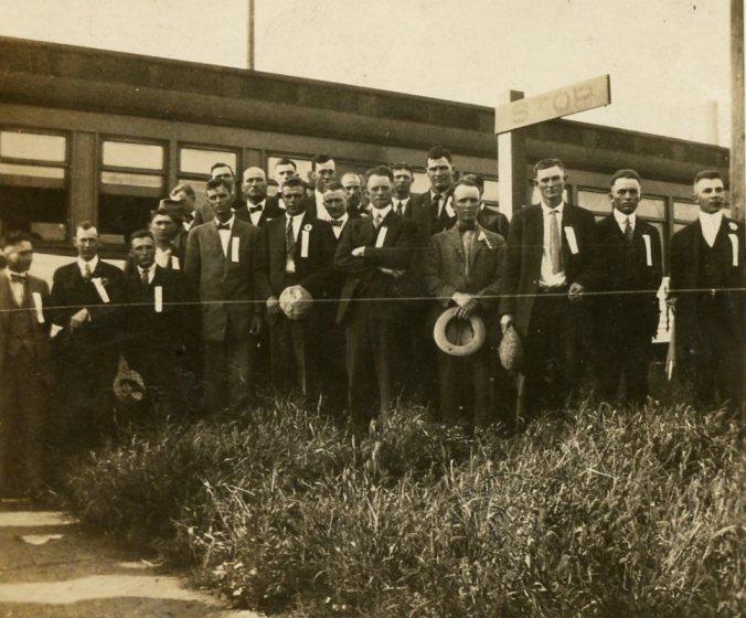 Grandpa Alderson WWI Train
