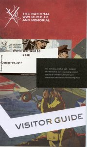 NWW1 Visitor guide and ticket