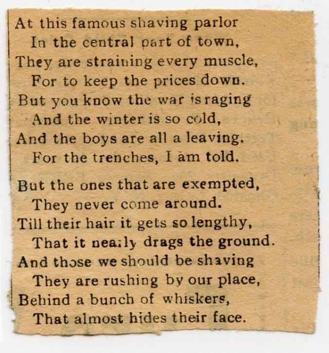 Exempt poem