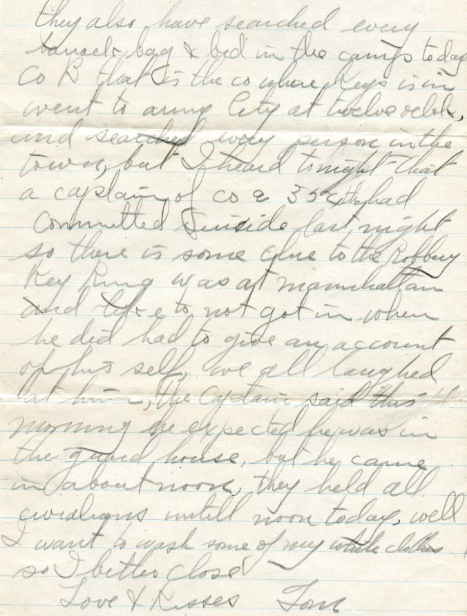 bank letter, page 2