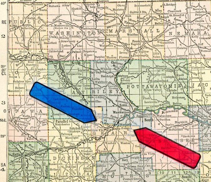 map detail arrows