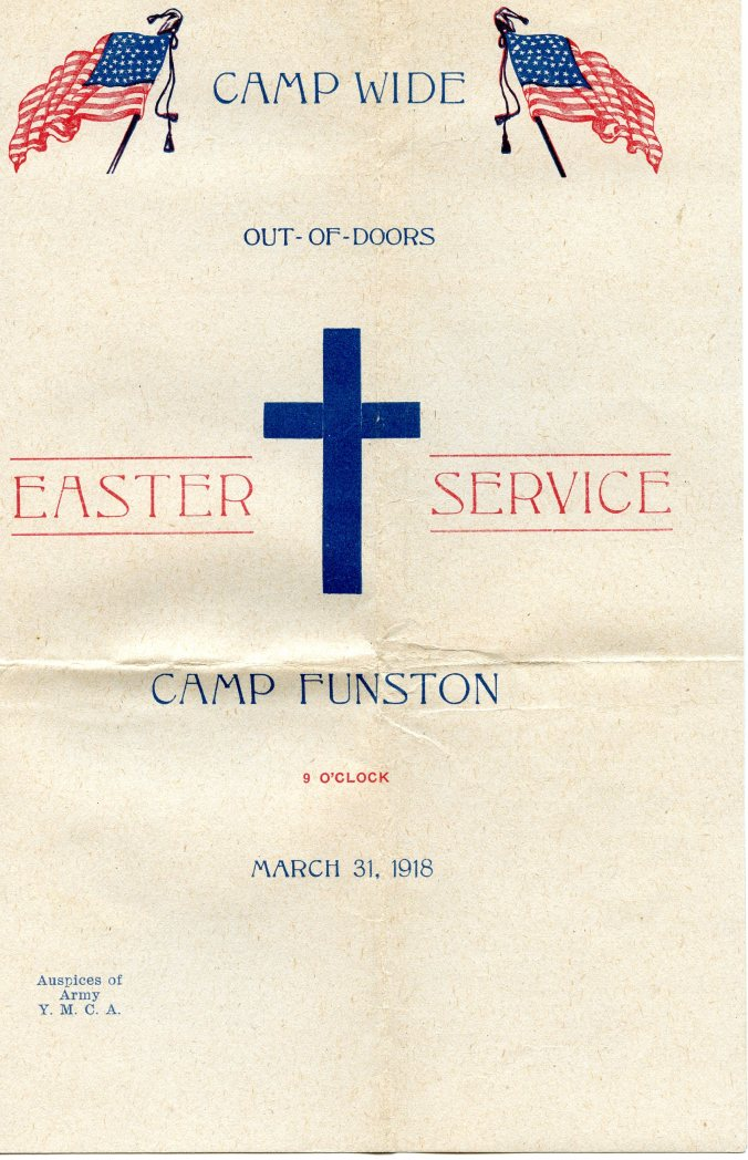 Easter program cover