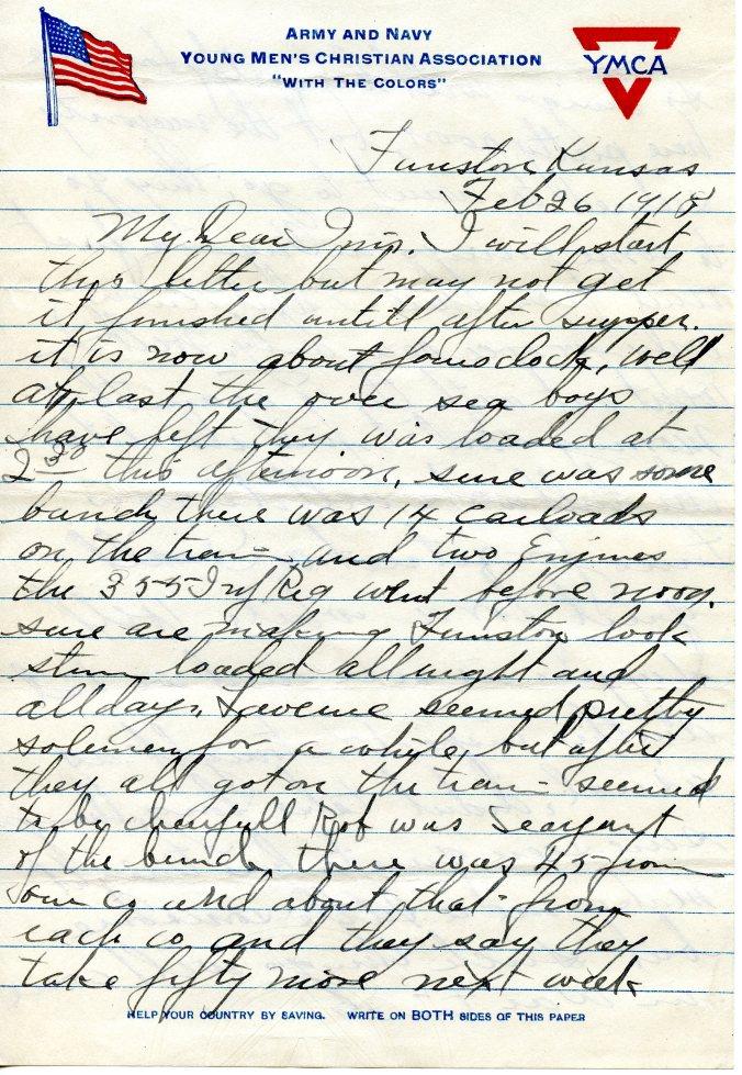 Feb 26 letter