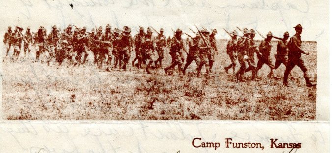 Marching camp funston 3-27-18