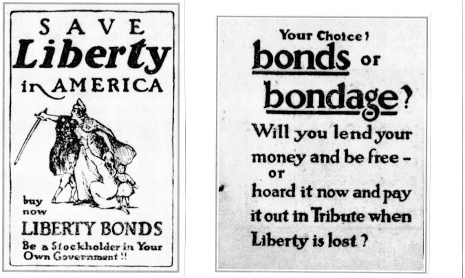 Bond ads