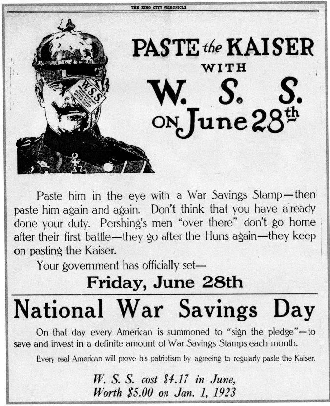 Paste the Kaiser