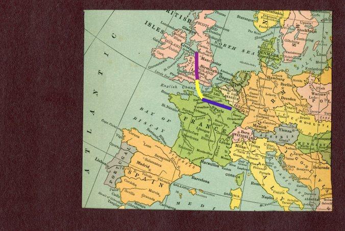 Europe, lines