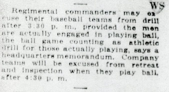 baseball excuses, funston