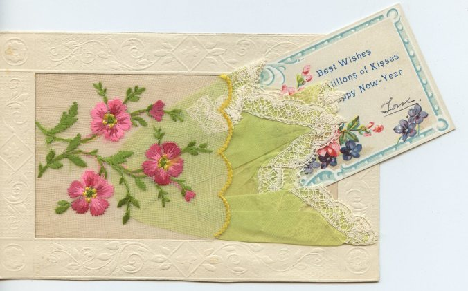 silk border card insert