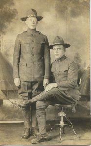 Grandpa and Tom Wright