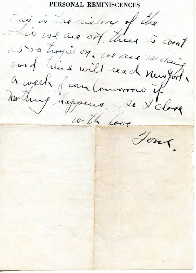 3-14-19, USS Huntington booklet, note, 2