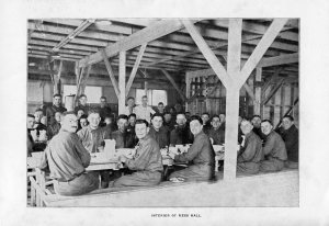 Camp Grant mess hall