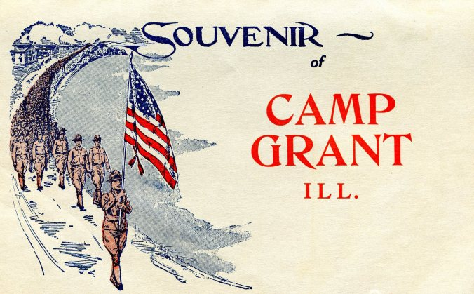 Camp Grant Souvenir cover
