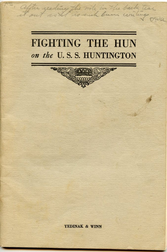 USS Fighting Hun cover