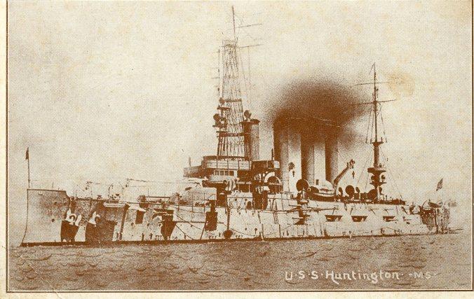 USS Huntington, view