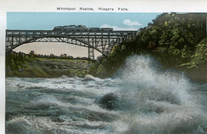 Niagara with train