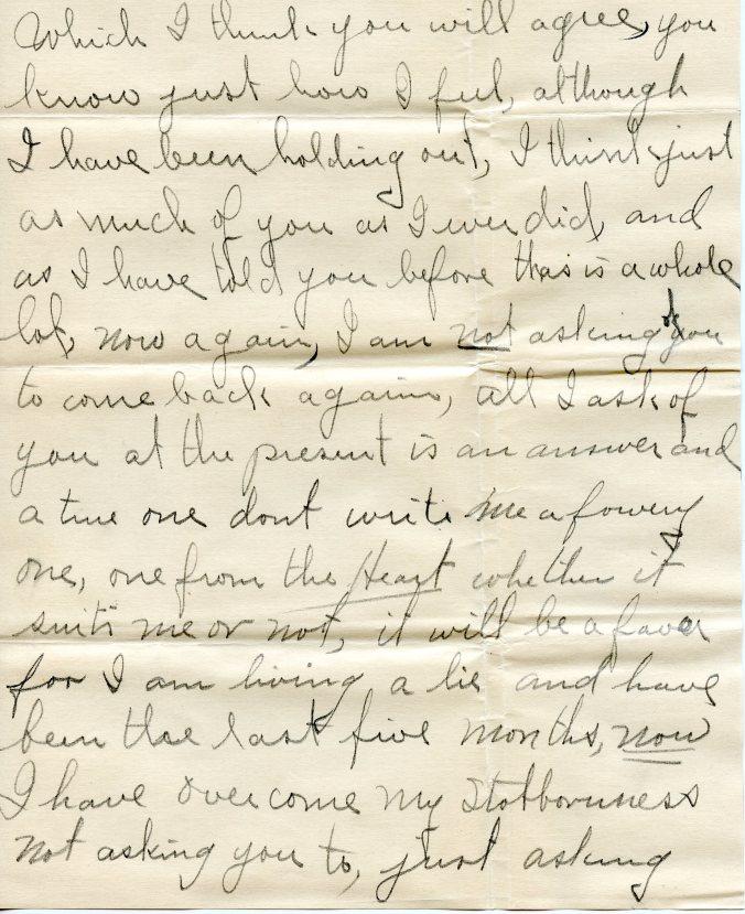 December letter, 1919, 2