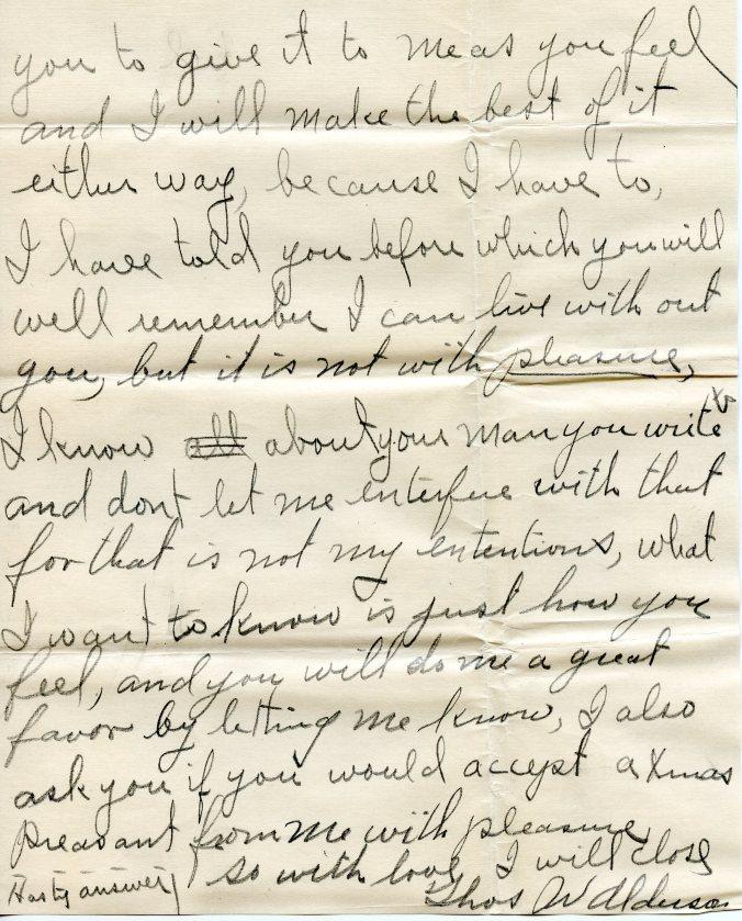 December letter, 3